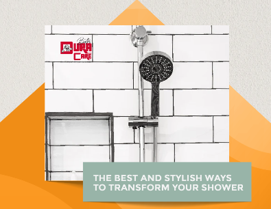 THE BEST AND STYLISH WAYS TO TRANSFORM YOUR SHOWER (Infographic)